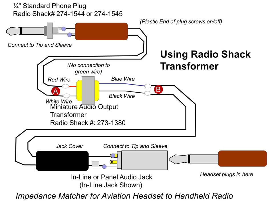 adventures in amplitude note i show the radio shack schematic an in line jack and the xicon one a panel mount jack either one can be used either transformer