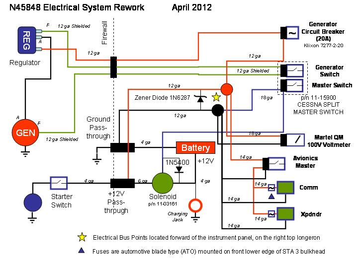 elect_s new electrical system cessna master switch wiring diagram at crackthecode.co