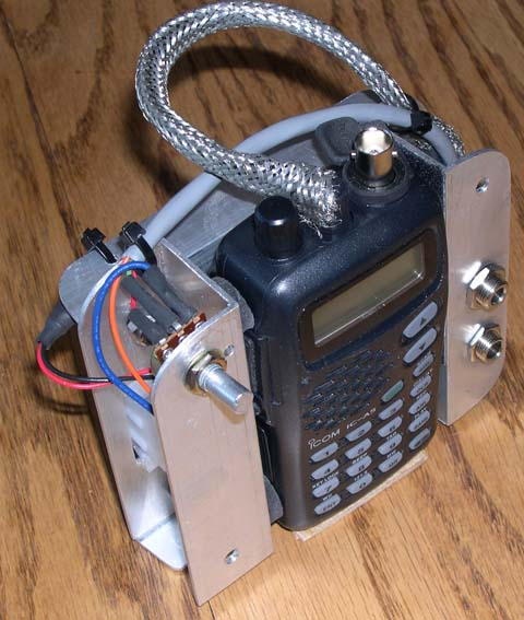 Panel-Mounted Handheld Radio